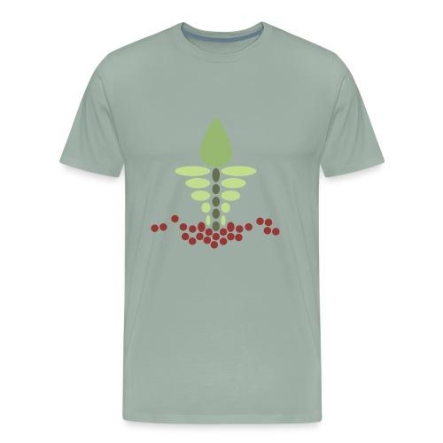 Growy Veggie - Men's Premium T-Shirt