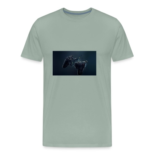 the controller - Men's Premium T-Shirt