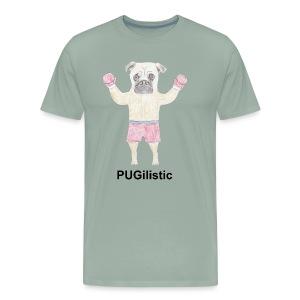 PUGilistic - Men's Premium T-Shirt
