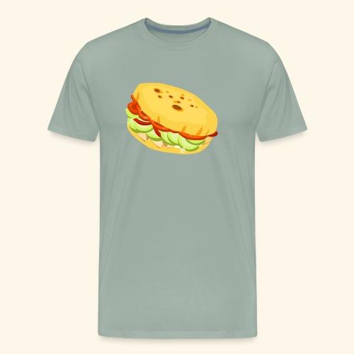 Arepa Sandwich - Men's Premium T-Shirt