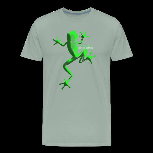 lighter w/white font - Men's Premium T-Shirt