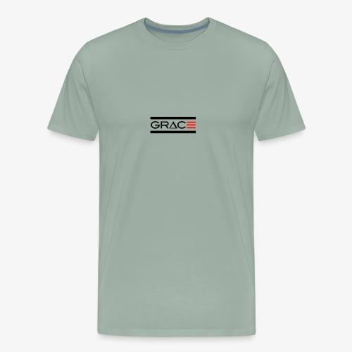 Double Line Grace - Men's Premium T-Shirt