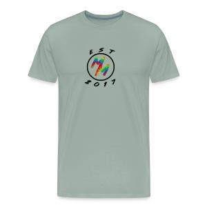 Original Tie Dye Est. 2017 Mack Merch - Men's Premium T-Shirt