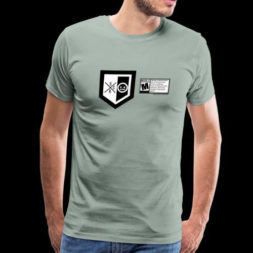 T shirt ScKFred ESRB - Men's Premium T-Shirt