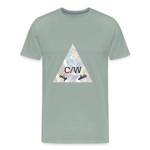 crisp white - Men's Premium T-Shirt