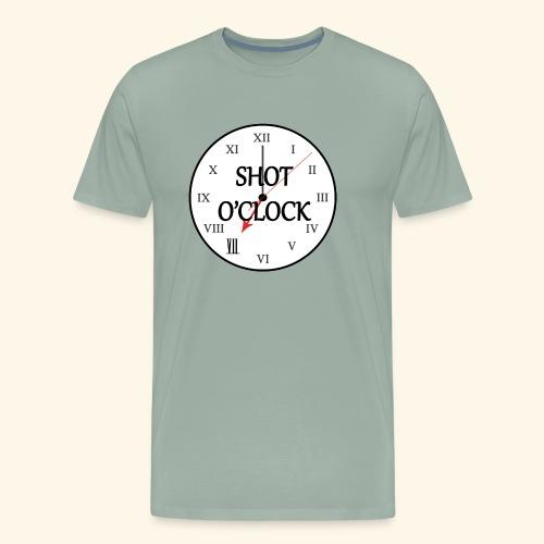 Shot O'Clock - Men's Premium T-Shirt
