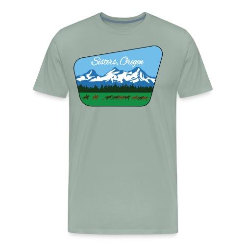 Sisters Oregon - Men's Premium T-Shirt