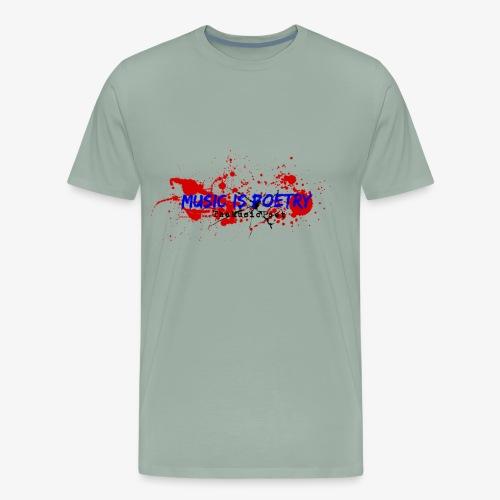 Music Is Poetry - Men's Premium T-Shirt