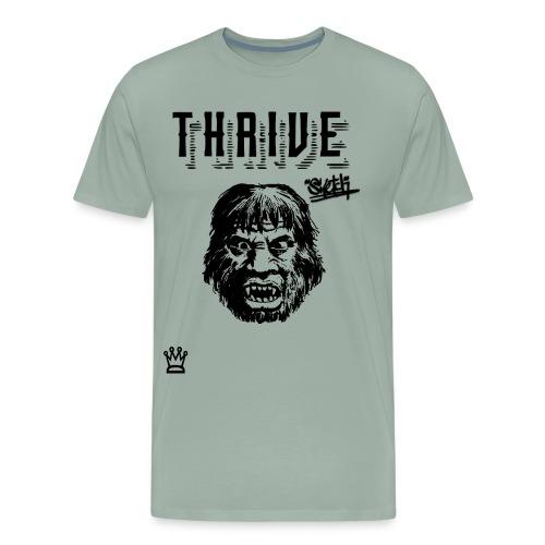 caveman thrive shirt - Men's Premium T-Shirt