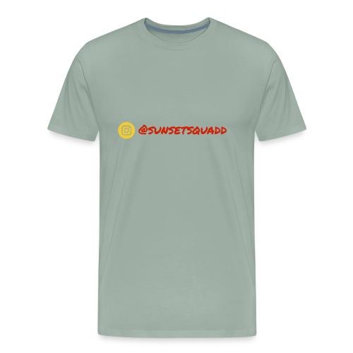 SunsetSquadd Handle - Men's Premium T-Shirt