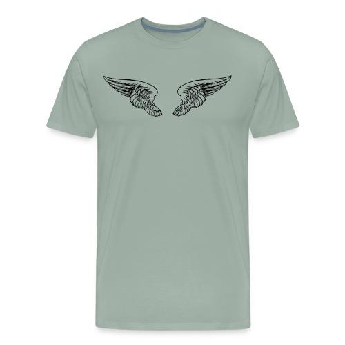 The wings - Men's Premium T-Shirt