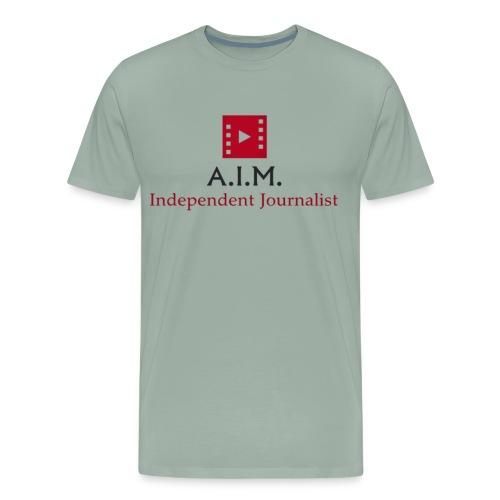 Aussie independent Media style 1 - Men's Premium T-Shirt