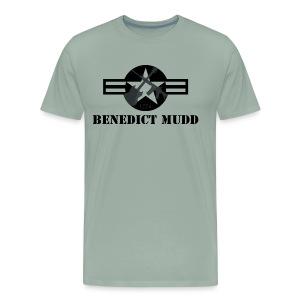 Gray Benedict Mudd - Men's Premium T-Shirt
