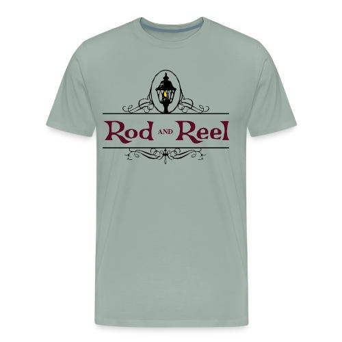 Rod and Reel Resort Logo - Men's Premium T-Shirt