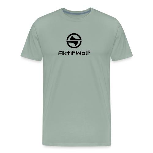 New aktifwolf Logo 2018 - Men's Premium T-Shirt