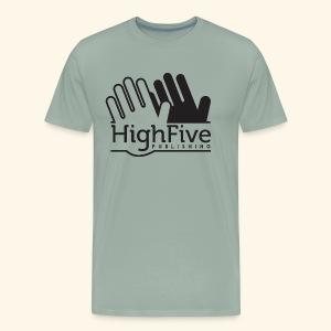 High Five Publishing Logo - black - Men's Premium T-Shirt