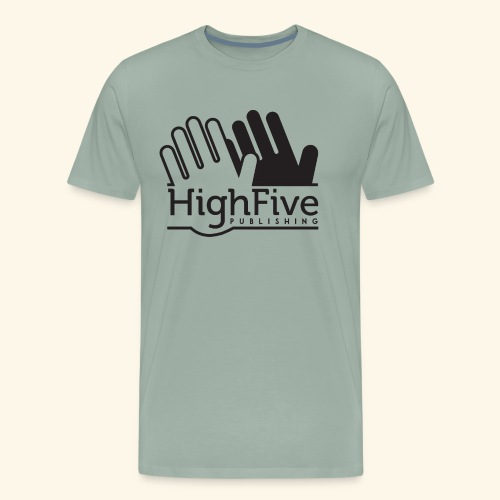 High Five Publishing Logo - black - Men's Premium T-Shirt