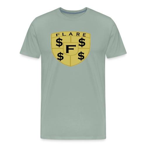 FLARE Shield Logo - Men's Premium T-Shirt