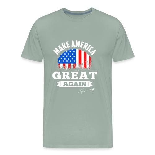 MAGA - Trump - Men's Premium T-Shirt