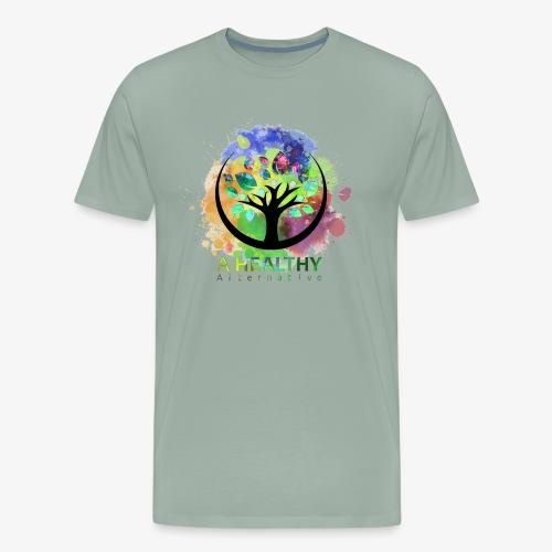 A Healthy Alternative Watercolor ALT - Men's Premium T-Shirt