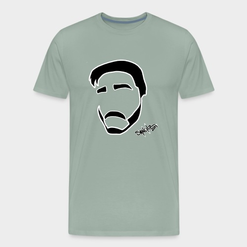 My face - Men's Premium T-Shirt