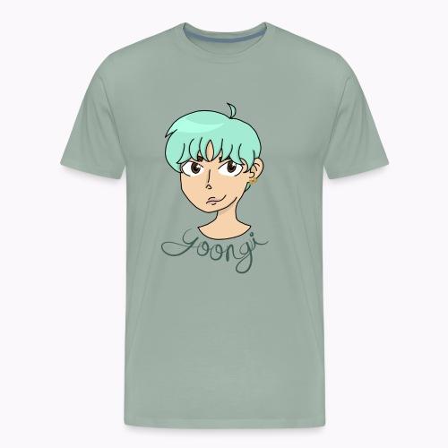Min Yoongi - Men's Premium T-Shirt