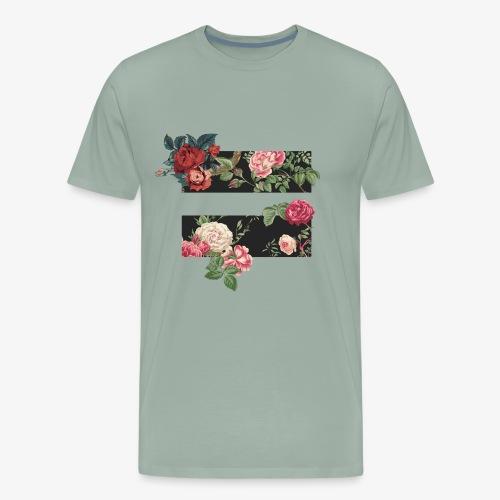 equality floral symbol - Men's Premium T-Shirt