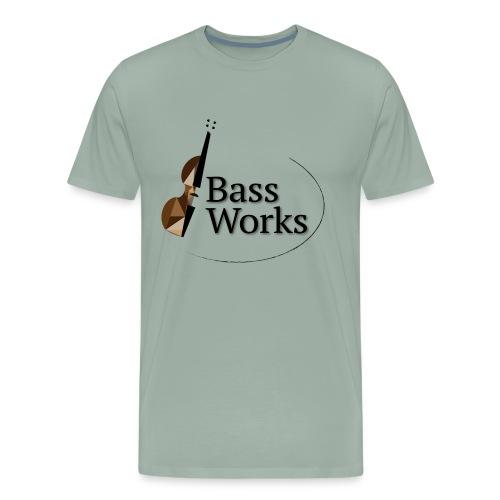 Bass Works Color Logo - Men's Premium T-Shirt