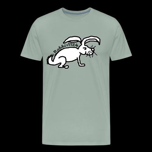 Rabbit1124 Logo - Men's Premium T-Shirt