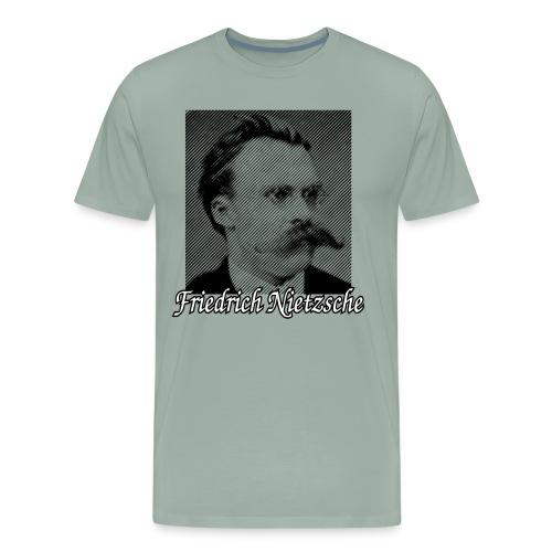 Friedrich Nietzsche German Philosopher - Men's Premium T-Shirt