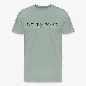 DeltaBoys Stonescript - Men's Premium T-Shirt