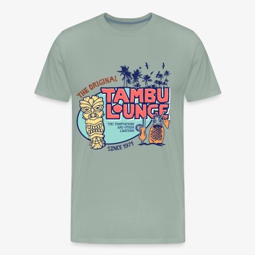 Tambu Retro (Alternate) - Men's Premium T-Shirt