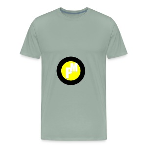 M3ga Merch Yellow - Men's Premium T-Shirt