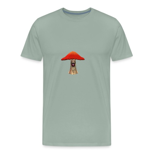 Flying Mushroom - Men's Premium T-Shirt
