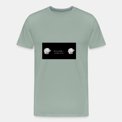 No matter how much pain you going through it be ok - Men's Premium T-Shirt