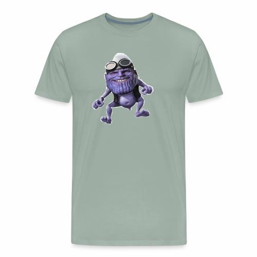 purple frog - Men's Premium T-Shirt
