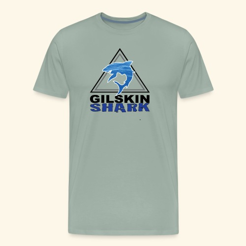 Gilskin Shark-T-Shirt-Ocean Shark - Men's Premium T-Shirt