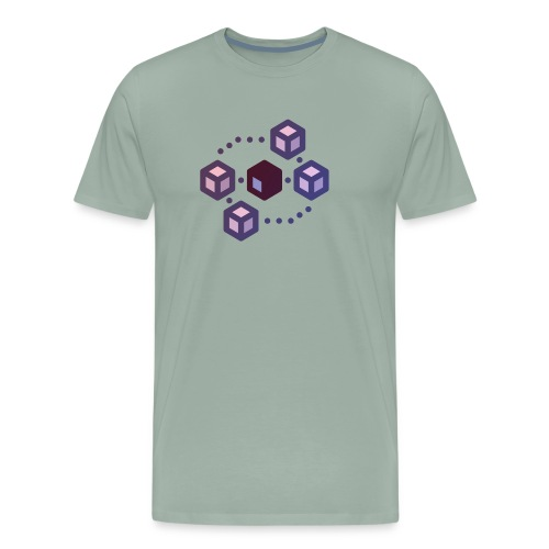 Delegate Proof of Stake (dPOS) Collection - Men's Premium T-Shirt