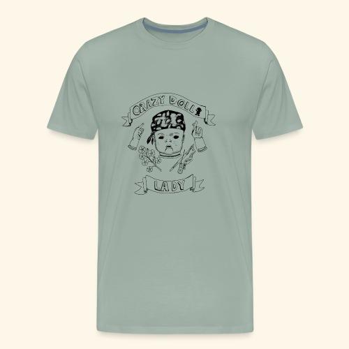 crazy doll lady - Men's Premium T-Shirt