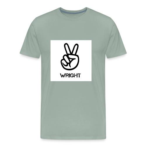 Grey hoodie - Men's Premium T-Shirt