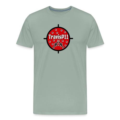 travisp11 transparent - Men's Premium T-Shirt