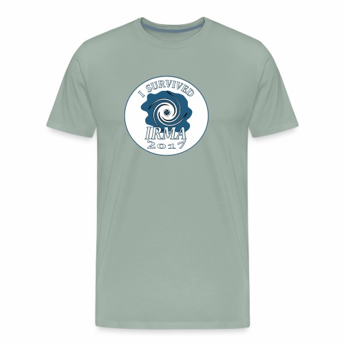 I survived Hurricane Irma 2017 - Men's Premium T-Shirt