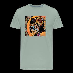 Day of the dead woman - Men's Premium T-Shirt
