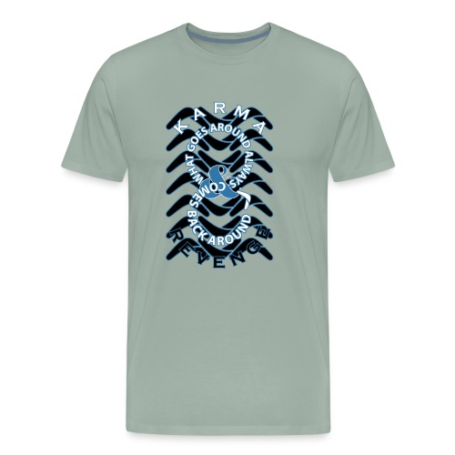 Boomerang Blue - Men's Premium T-Shirt