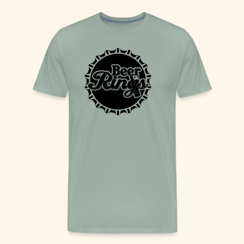 Beer Rings - Men's Premium T-Shirt
