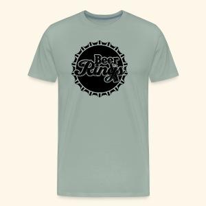 Beer Rings - Men's Premium T-Shirt