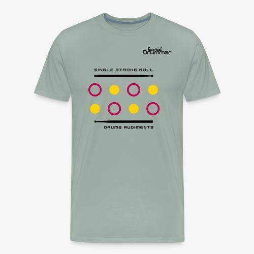 Single Stroke Roll - Men's Premium T-Shirt