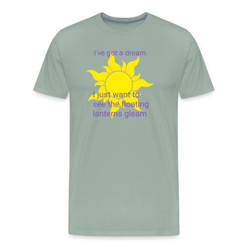 Tangled sun dream - Men's Premium T-Shirt