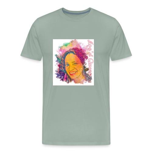 Loc'd Queen - Men's Premium T-Shirt