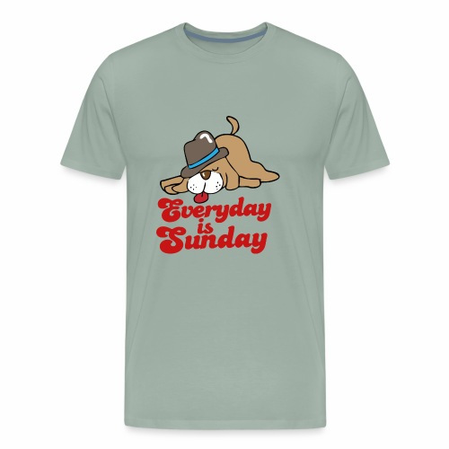 everyday is sunday - Men's Premium T-Shirt